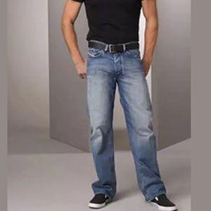 New Diesel Quratt Slim Straight Leg Jeans 32 X 32